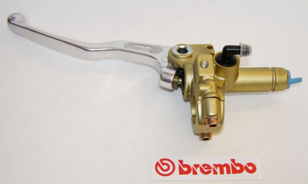 Brembo Kupplungspumpe PS13 gold